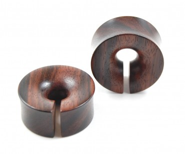 Hoops plugs macassar 30 mm