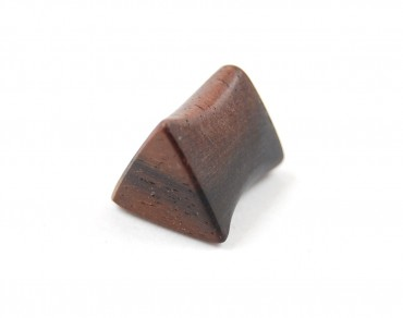 Macassar triangle plug 8 mm