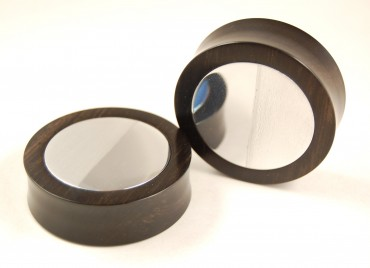 Plugs custom ebony/metal 50 mm