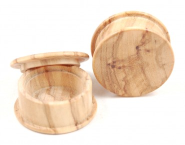Box plugs olive wood