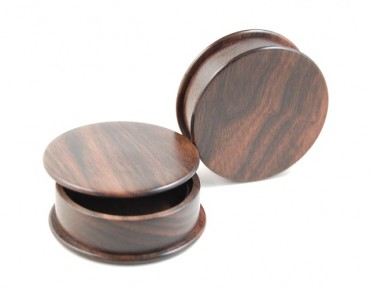 Box plugs macassar ebony